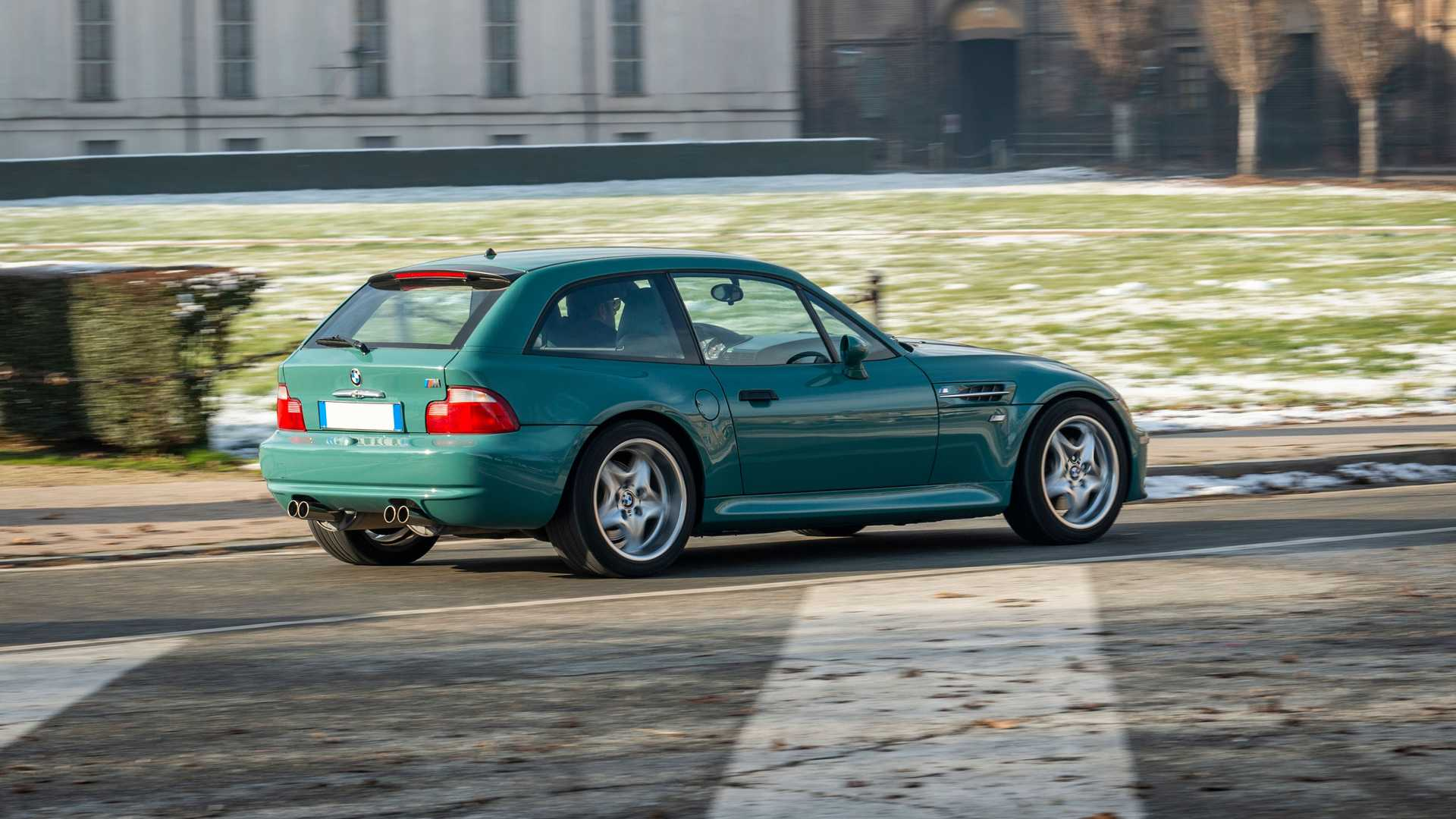 Minty Bmw M Coupe Is A Rare Sight At The Auction Block