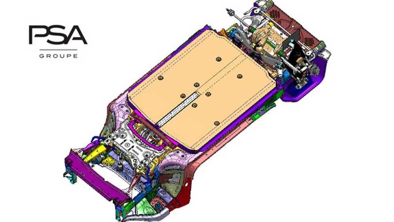 PSA-Elektroplattform e-VMP für Elektroautos und PHEVs