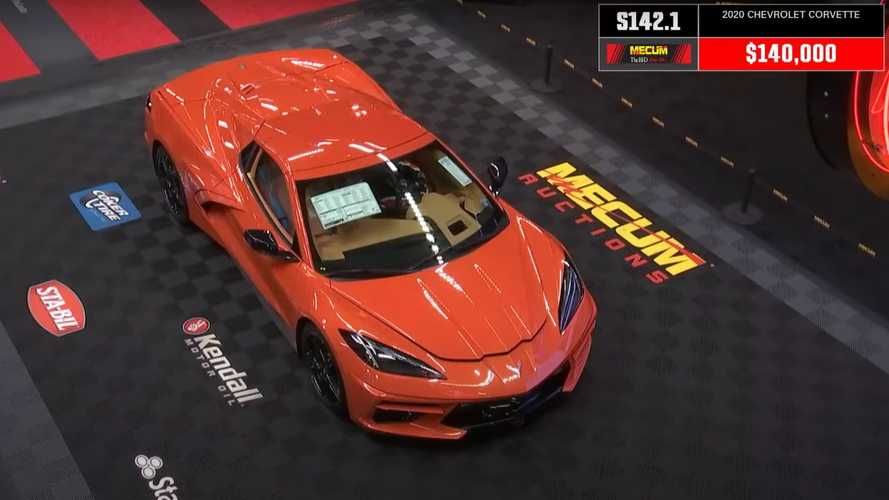 Sad Trombone: Final 2020 Chevrolet Corvette Fails To Sell At Auction