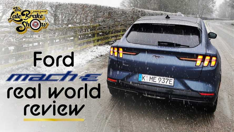 Ford Mustang Mach-E Reviewed In Dismal British Winter Weather