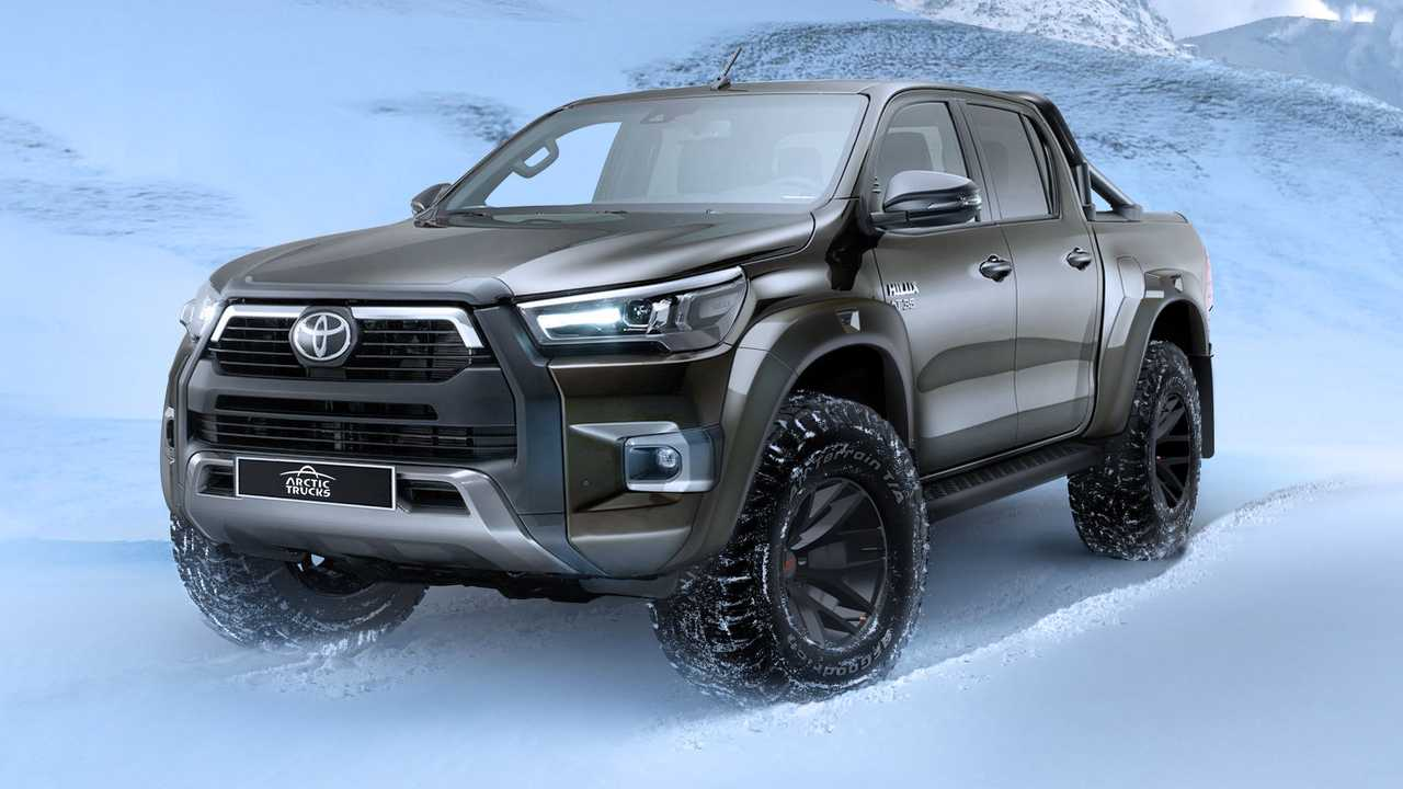 2021 Toyota Hilux AT35 by Arctic Trucks