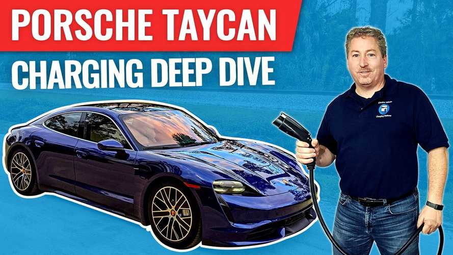 Everything You Need To Know About Charging The Porsche Taycan