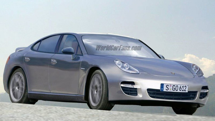 SPY PHOTOS: More Porsche Panamera