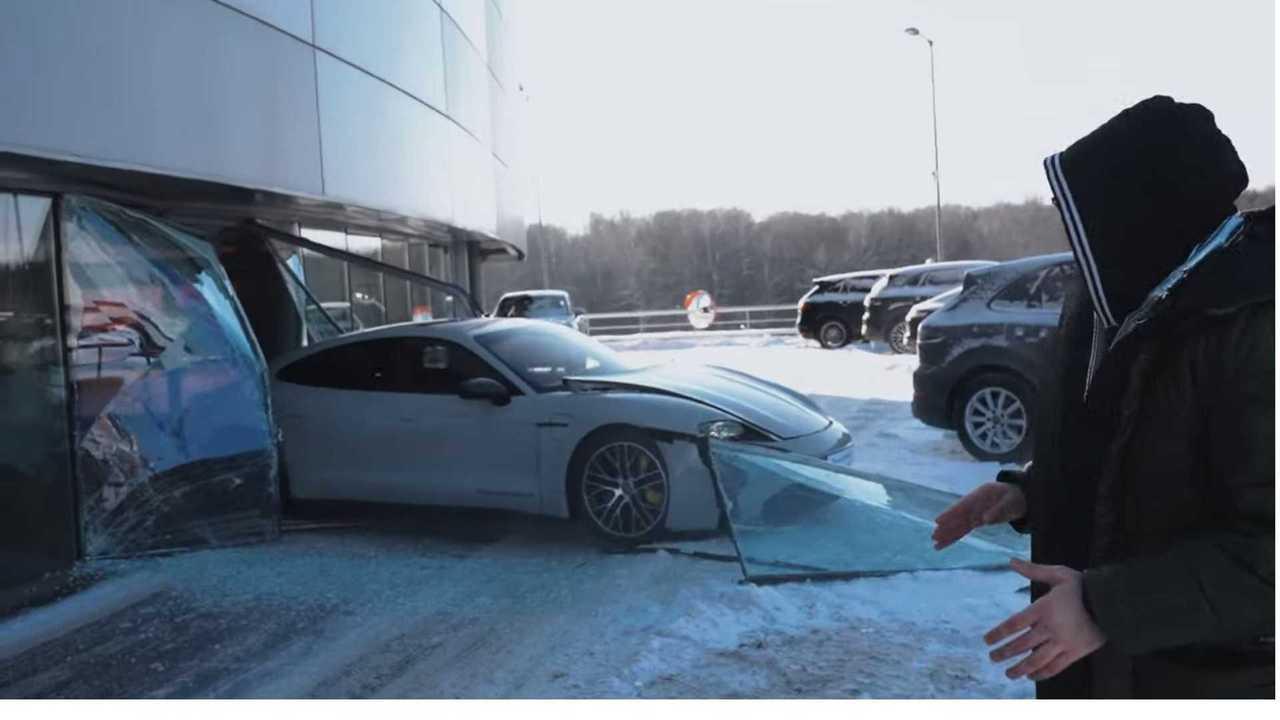 Porsche Taycan x Mikhail