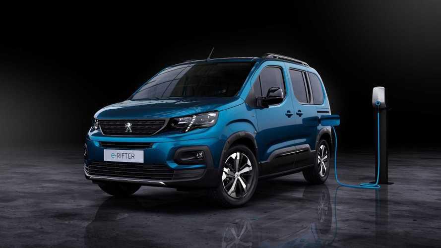 Peugeot e-Rifter (2021): Hochdachkombi mit Elektro-Antrieb