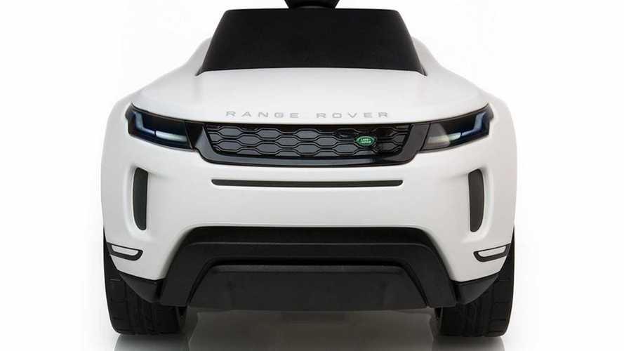 Nuova Range Rover Evoque, un giocattolo ufficiale svela il look