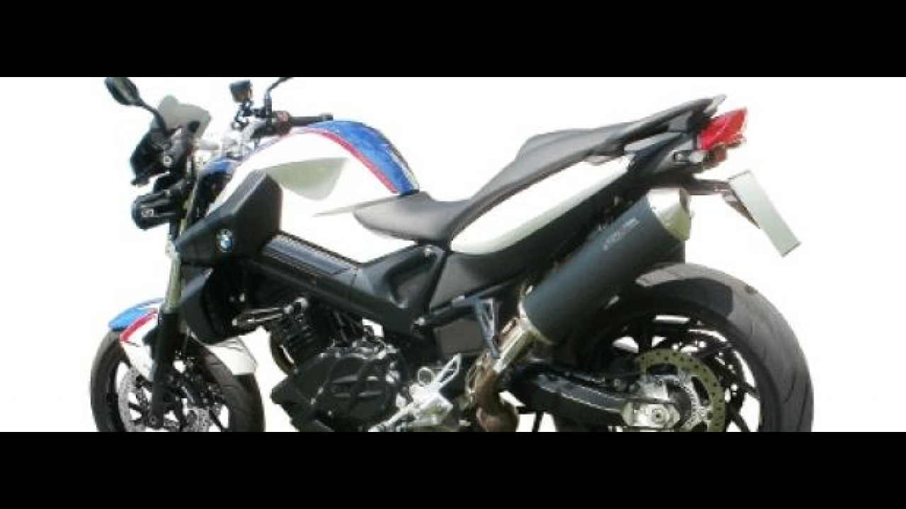 Spark Exhaust Technology: terminale per BMW F800R e GS