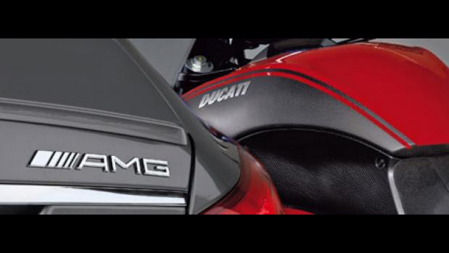Ducati e Mercedes-AMG: partnership ufficiale