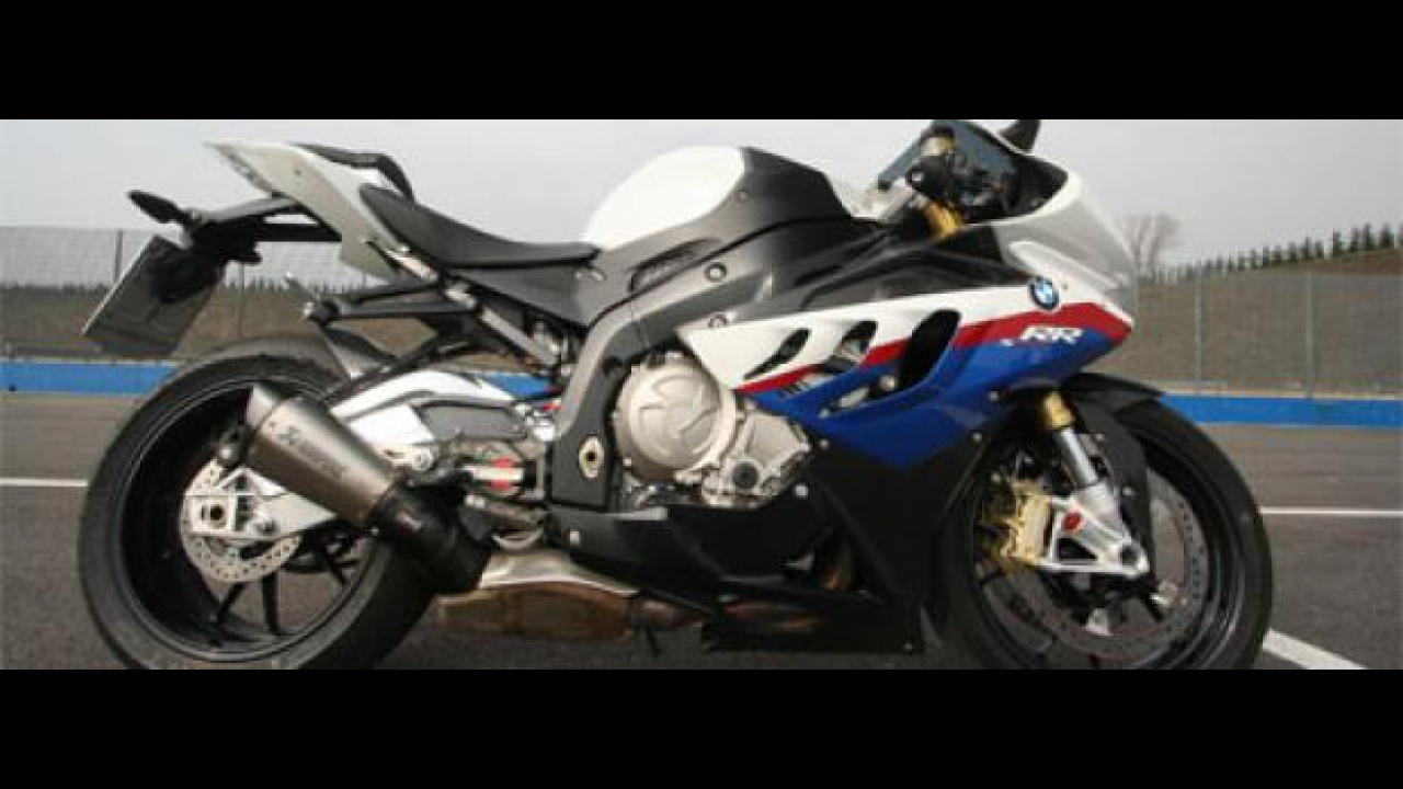 BMW S1000RR @ Franciacorta: test day