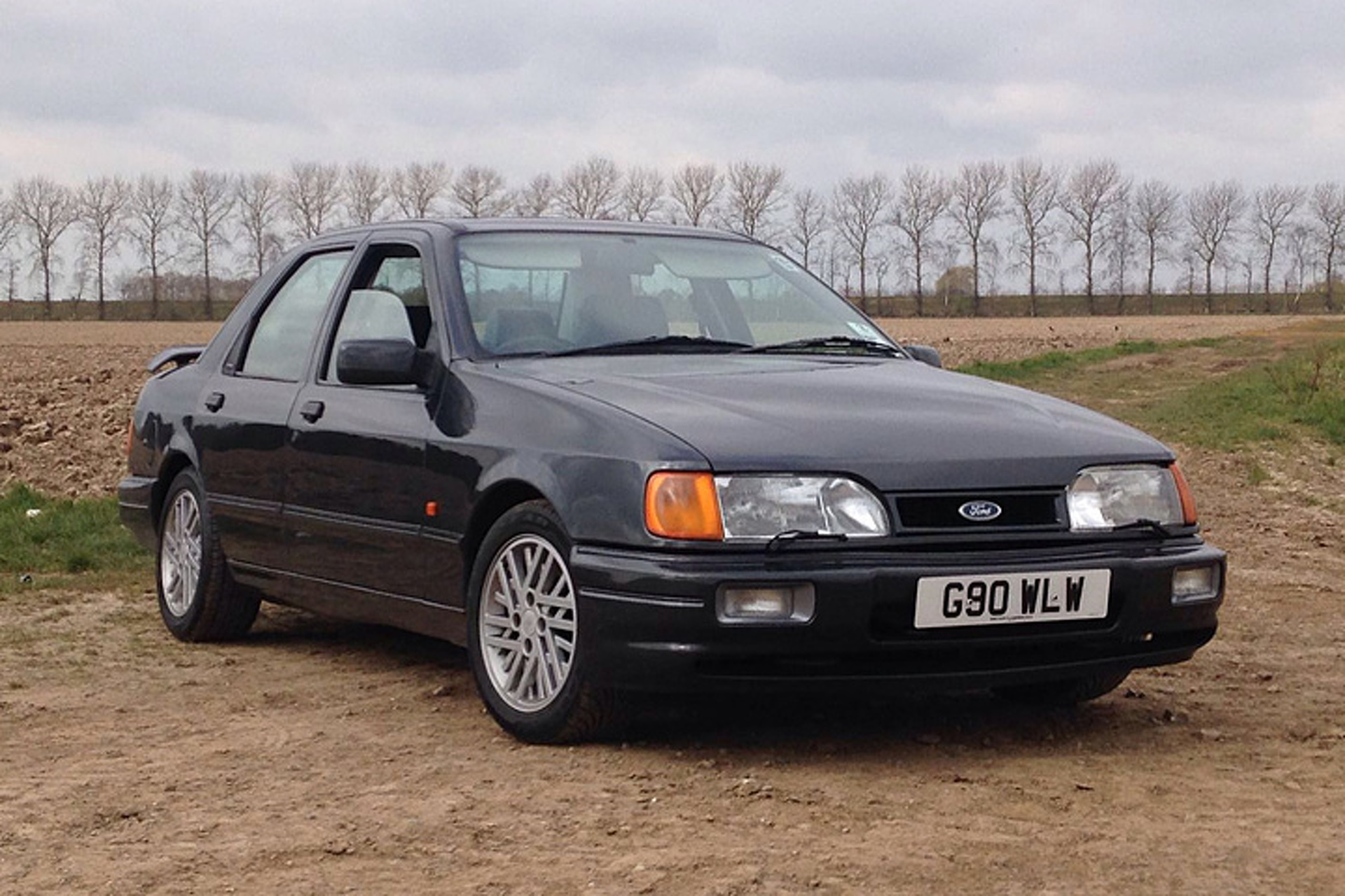 You can buy jeremy clarksons ford sierra from top gear