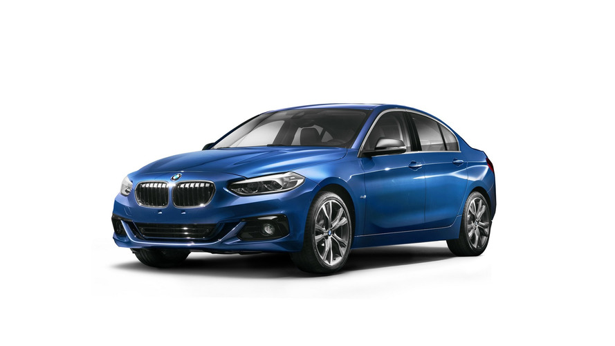 BMW 1 Series Saloon goes official in China to battle CLA