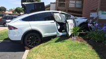 Tesla Model X crash