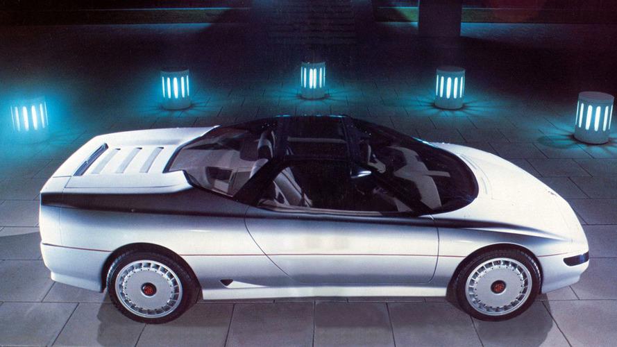 1985 MG EX-E: забытые концепт-кары