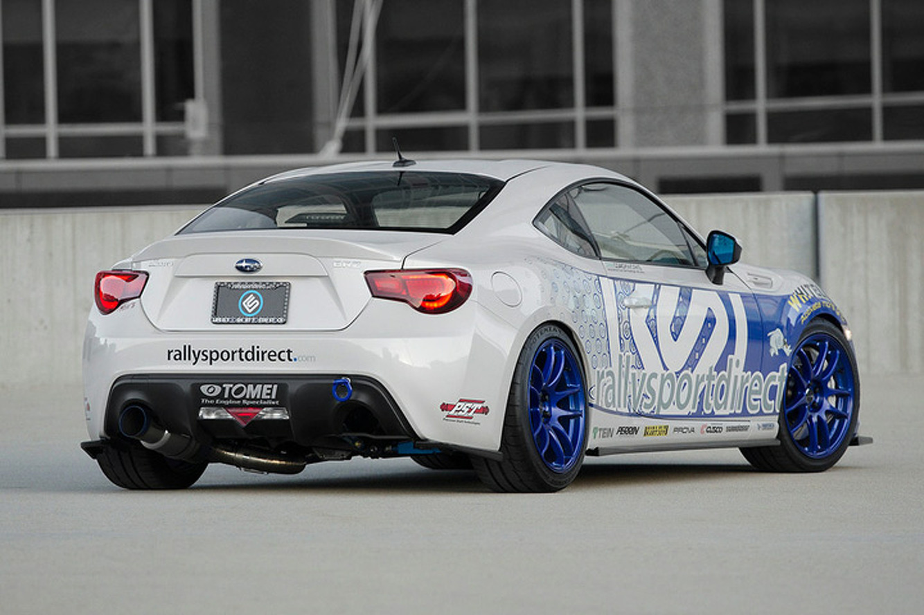 For Sale: Subaru BRZ 'Albino Rhino' is Affordable Eye Candy