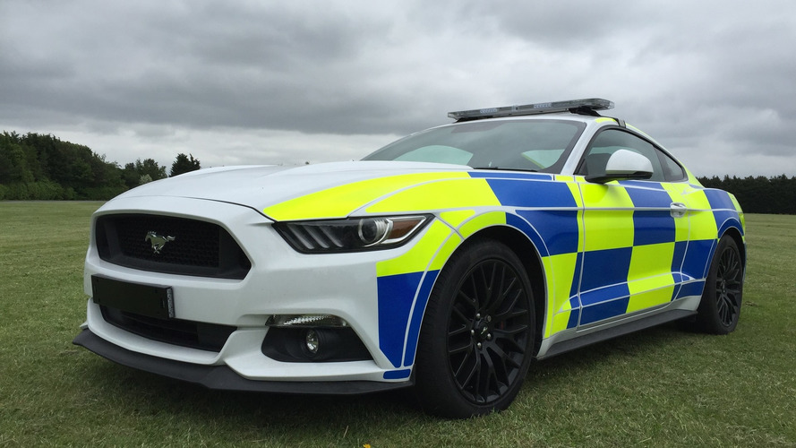 Ford Mustang UK police car prototype could be crushed