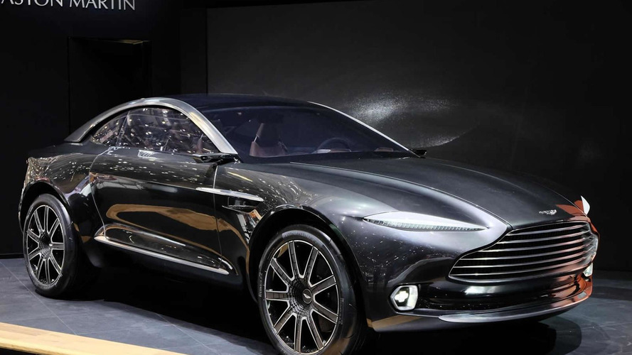 Aston Martin DBX concept tries to redefine the GT segment in Geneva