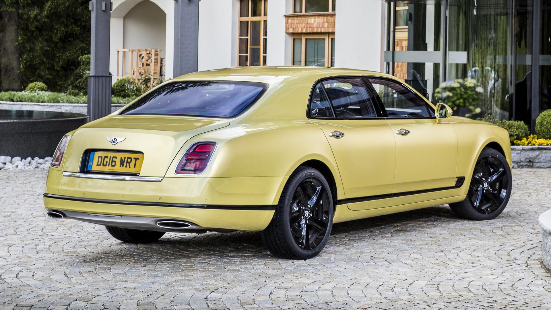 2017 Bentley Mulsanne Sd