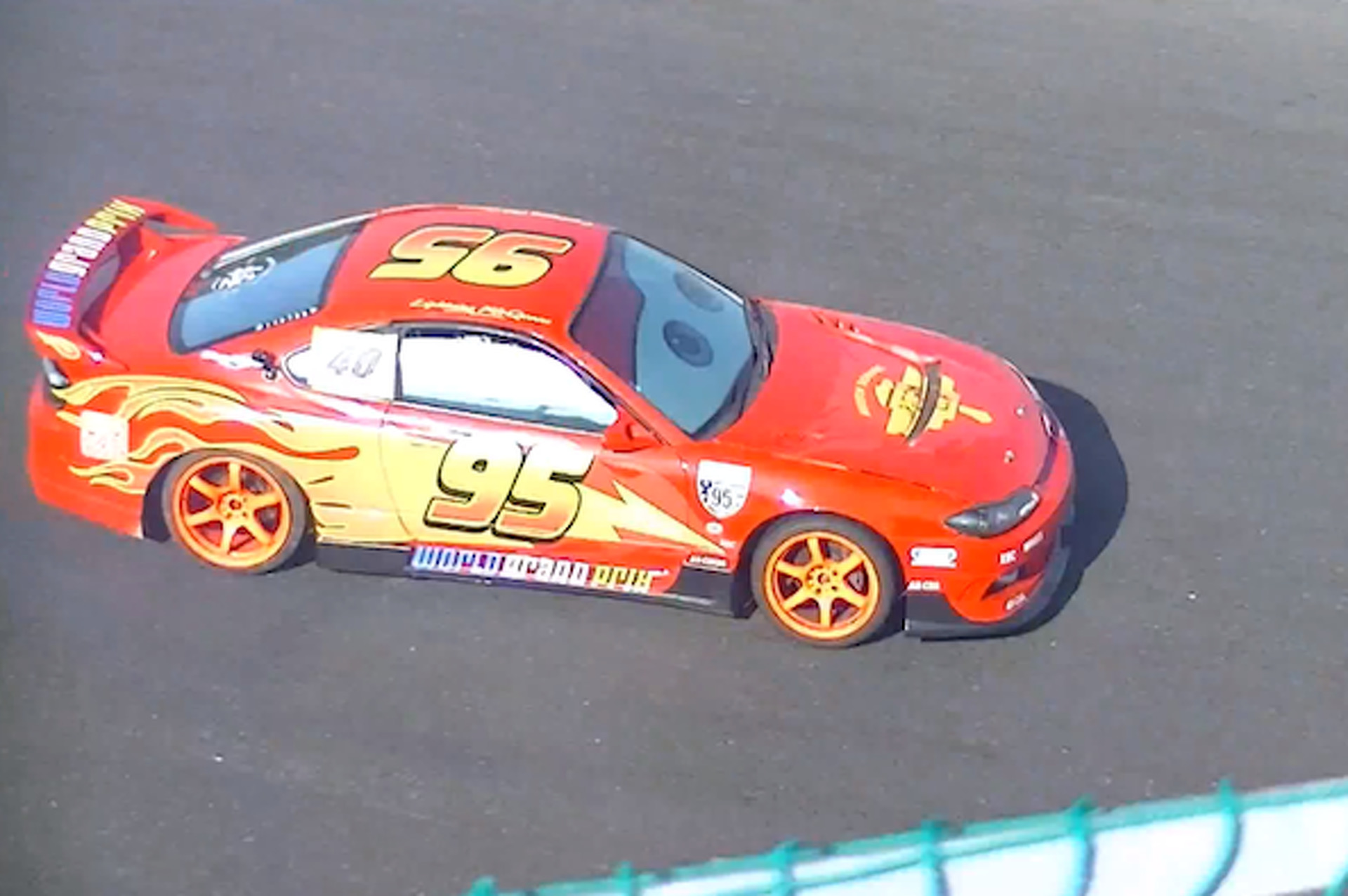 Watch Lightning McQueen in a Japanese Drift Race & Watch Lightning McQueen in a Japanese Drift Race | Motor1.com Photos
