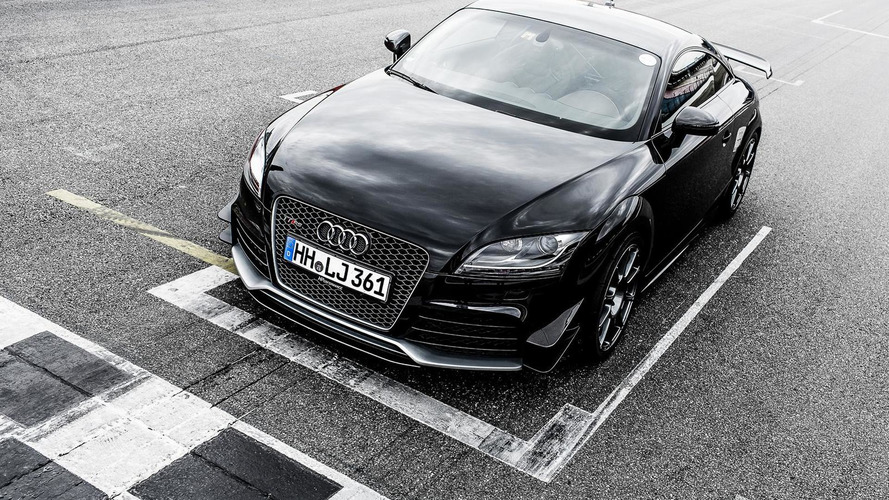 Previous generation Audi TT RS upgraded to 510 PS by Hperformance