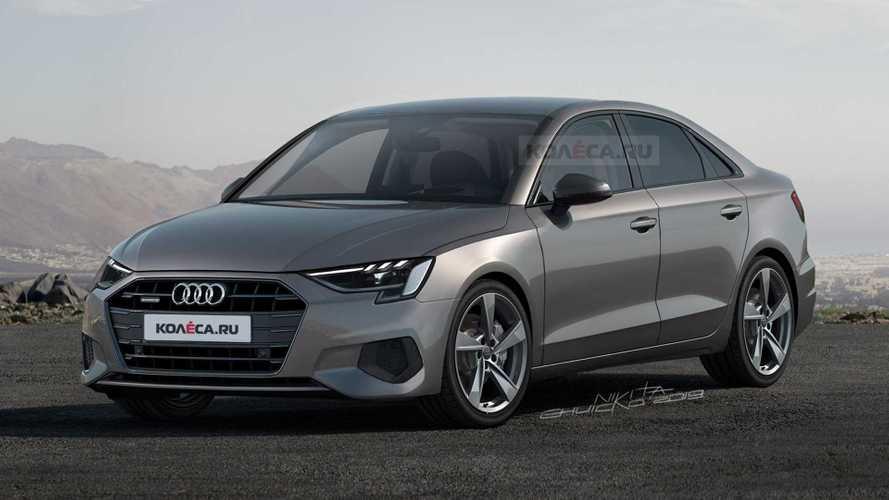 Audi A3 Sedan 2020, un interesante render basado en fotos espía