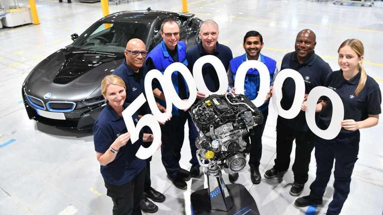 BMW Hams Hall five millionth engine