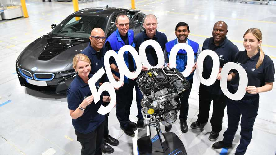 BMW's UK engine factory just produced its five millionth engine