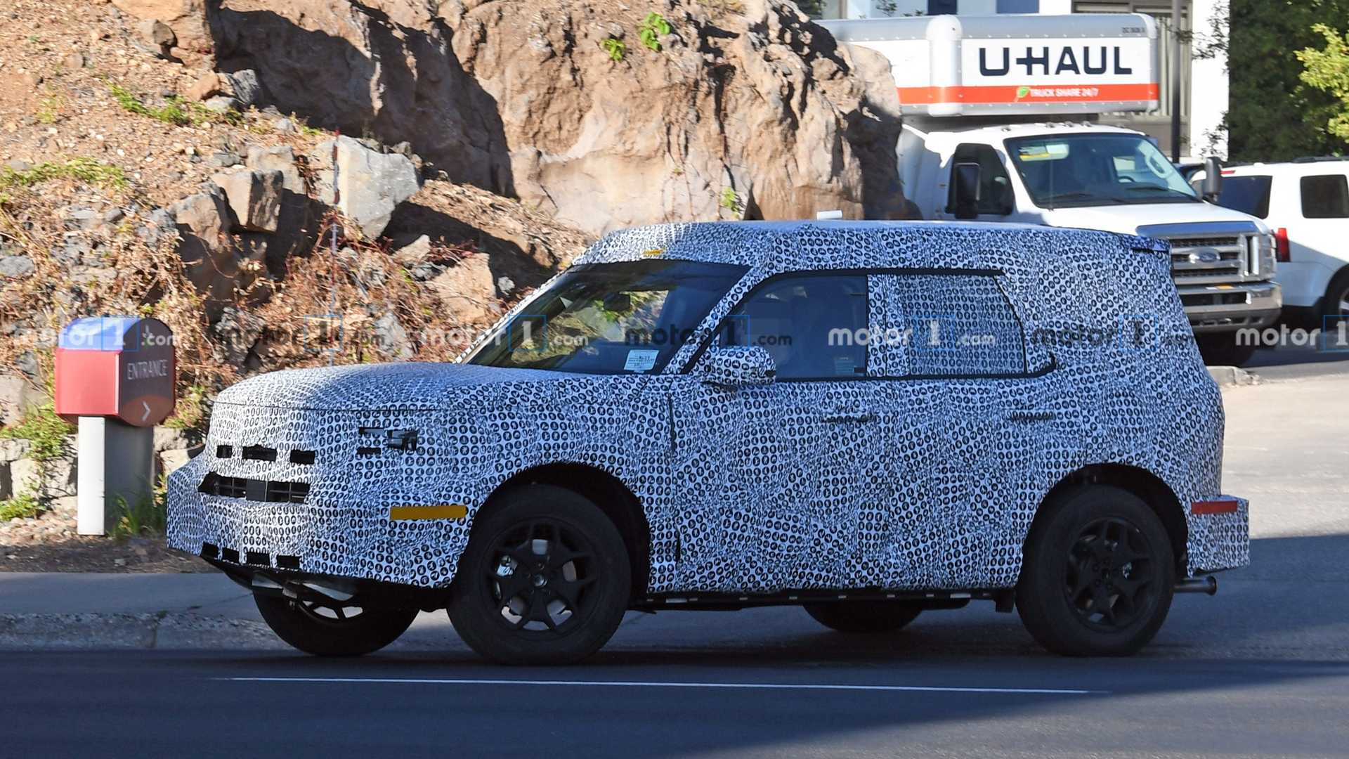New Ford Bronco >> Ford Baby Bronco Bare Body Allegedly Leaked In Exclusive Photo