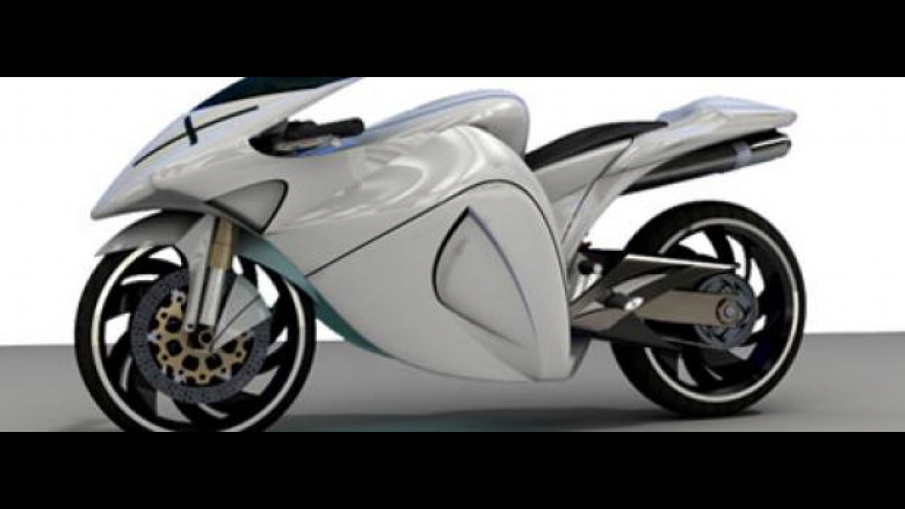 Ghost Motorcycle Concept by Muhammad Imran