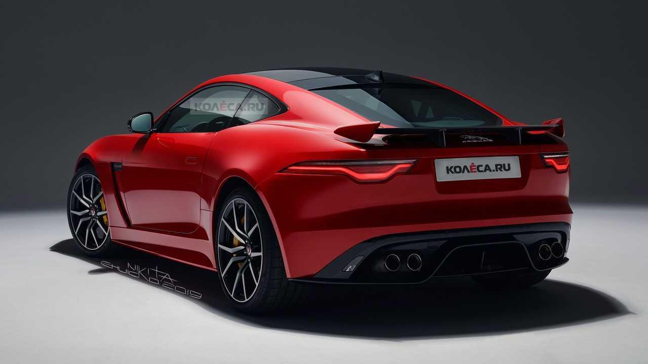 Jaguar F-Type 2021, rendu du lifting