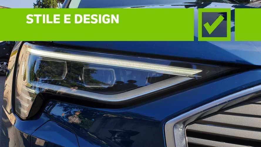 Audi e-tron 55 quattro, pro e contro
