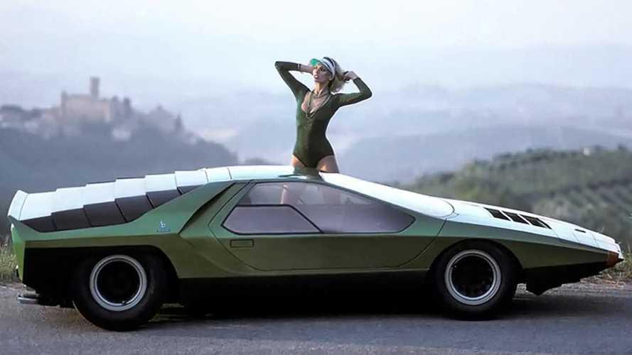Alfa Romeo Carabo concept 1968