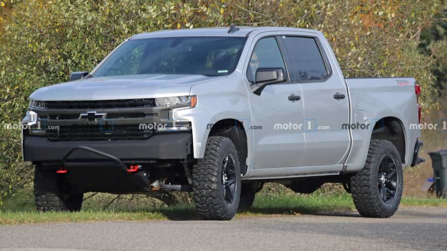 Chevy Silverado ZRX Spied Showing Off Rugged Details