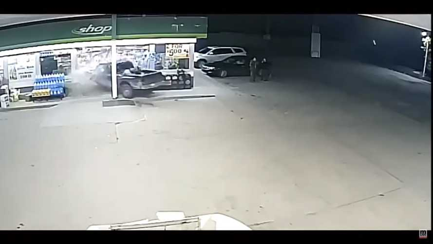 Truck Smashing Into Gas Station Could Be The Dumbest Crash Story Ever
