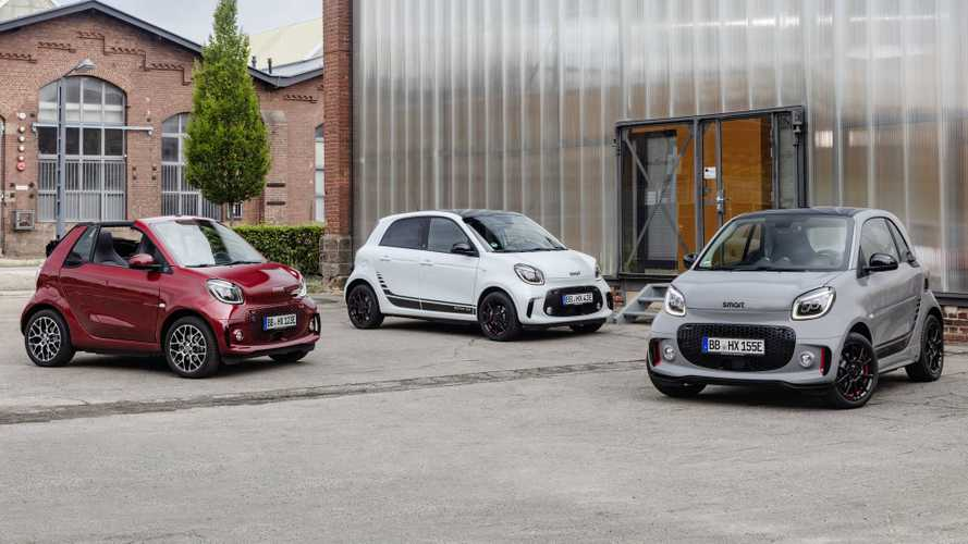 2020 Smart EQ ForTwo, EQ ForFour Revealed With Cosmetic Changes