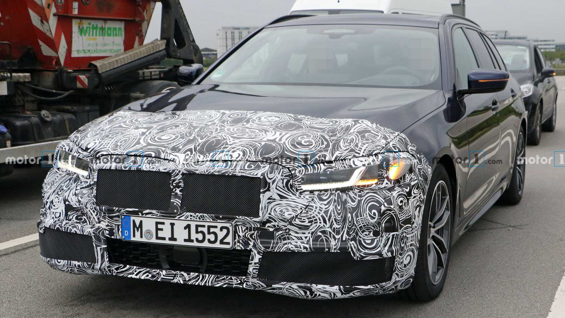 2021 Bmw 5 Series Interior Spied For The First Time