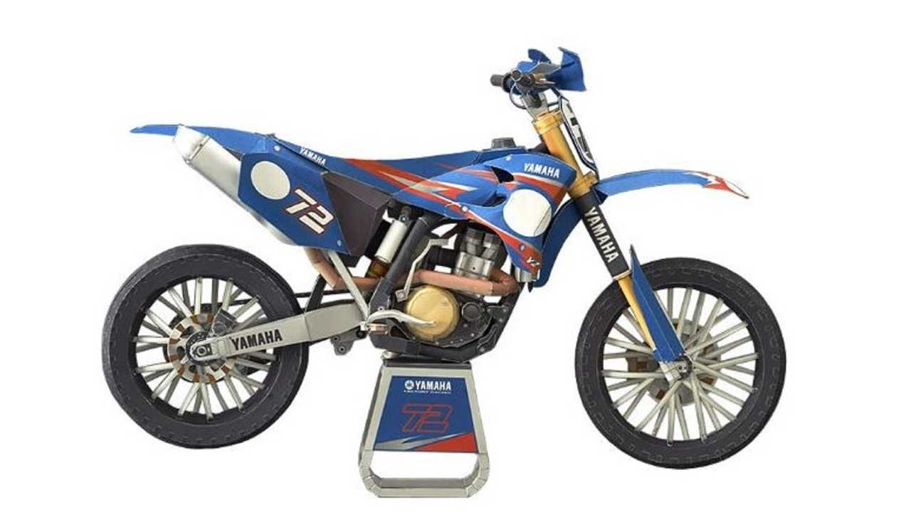 Yamaha MX Paper Model