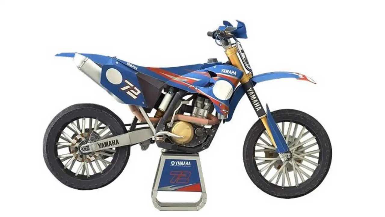 Yamaha MX Paper Model