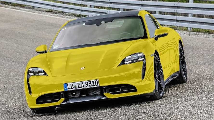 Porsche Taycan Surfaces In Tons Of New Colors