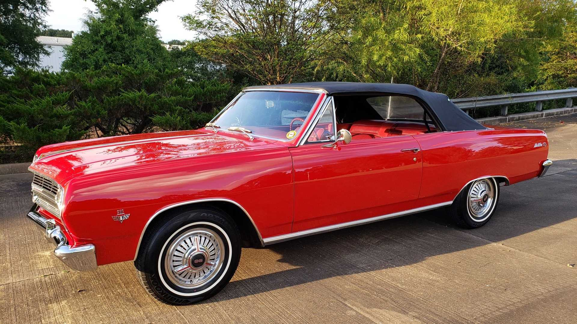 Drop The Top In This Stunning 1965 Chevy Malibu Ss Convertible Motorious