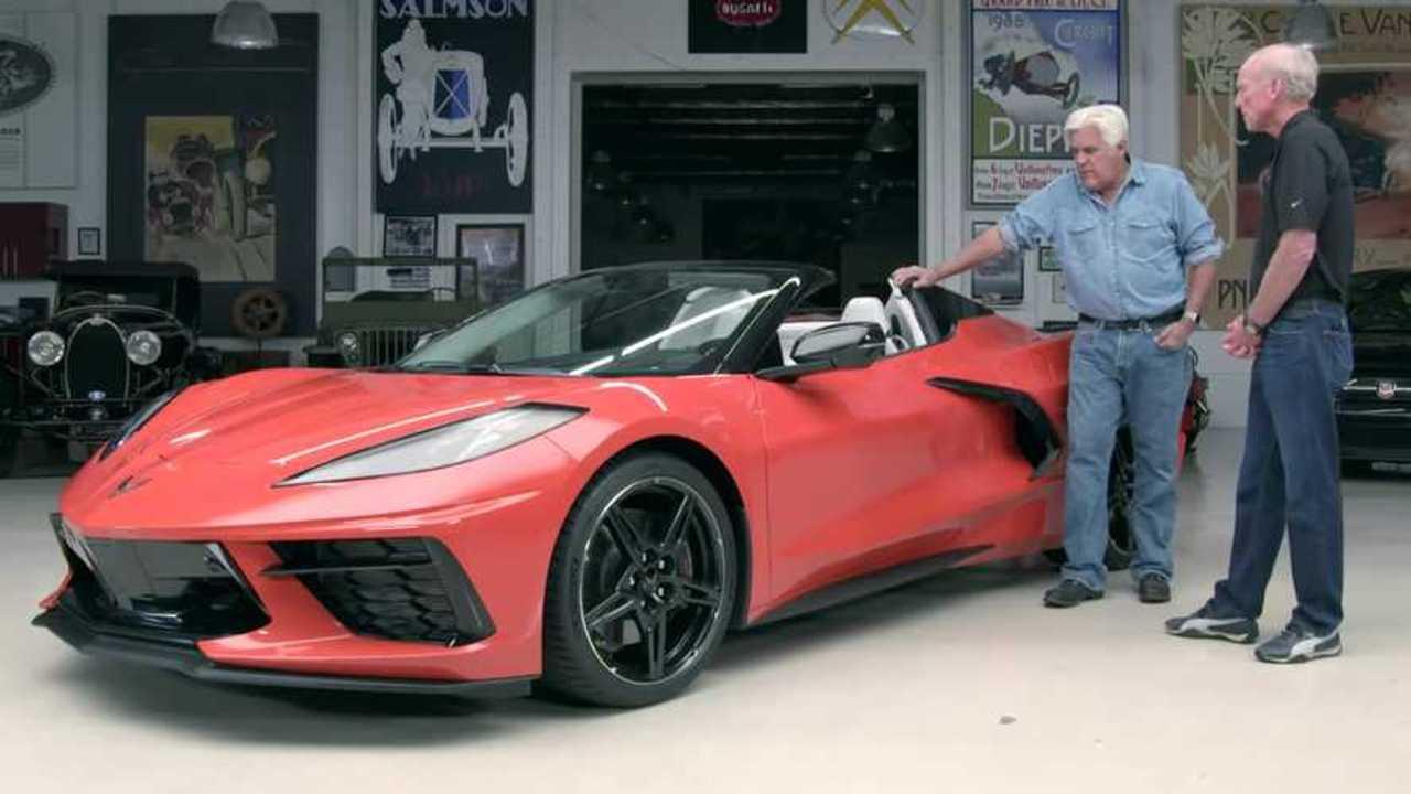 2020 Corvette Z51 Convertible Drops By Jay Leno's Garage - Motor1.com