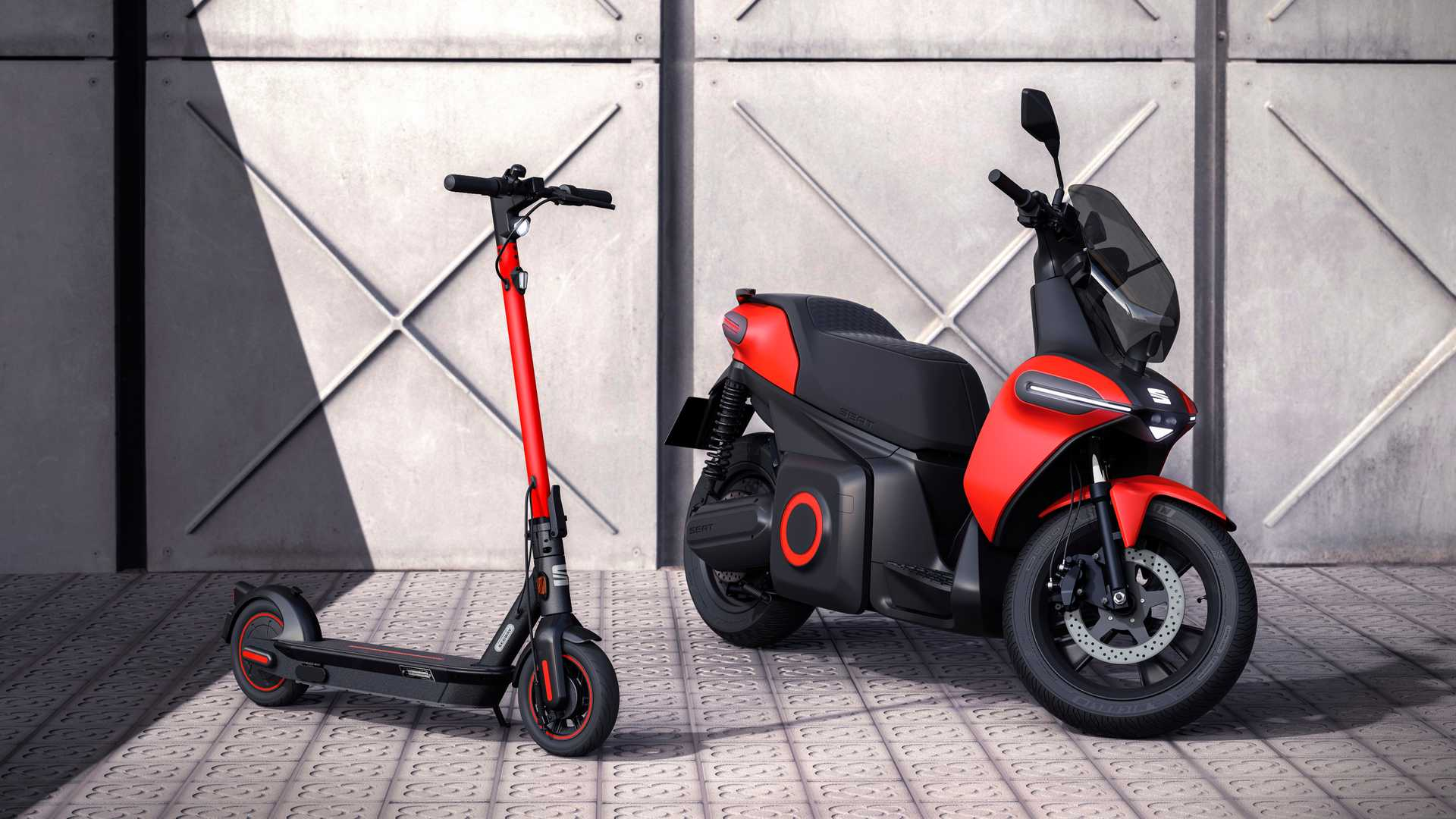 Seat präsentiert Elektroroller und E-Kickscooter