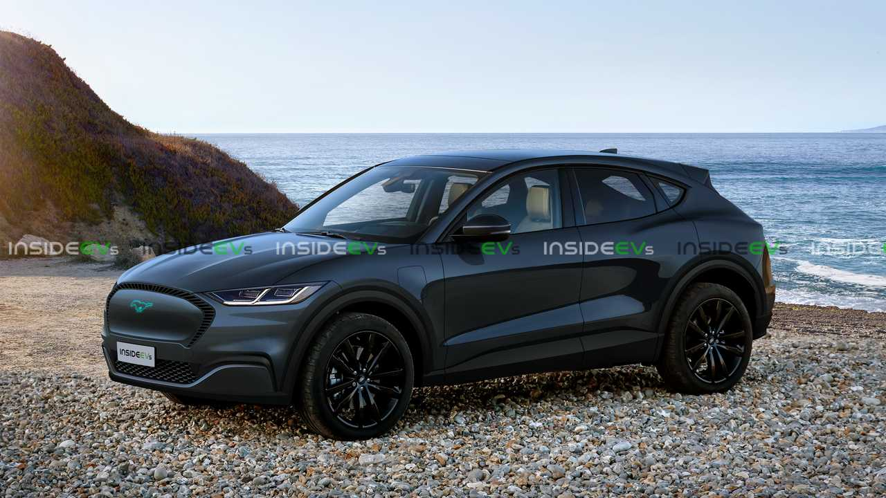 Ford Electric Car >> Ford Mustang Inspired Electric Cuv Rendered To Life From Spy