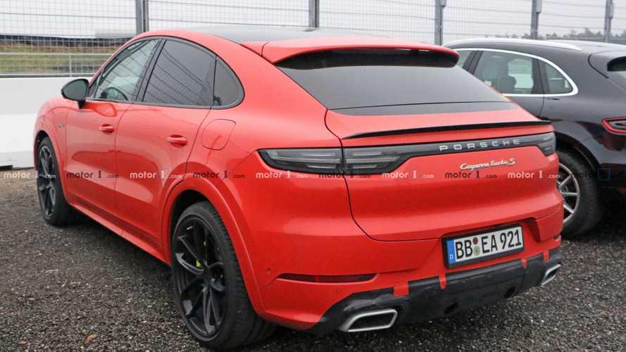 Porsche travaillerait sur version plus performante du Cayenne Coupé