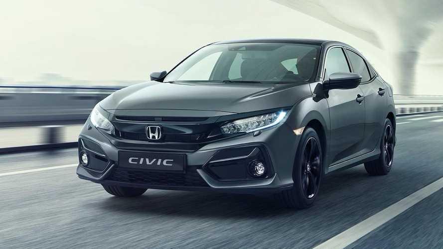 Honda Civic 2020, restyling