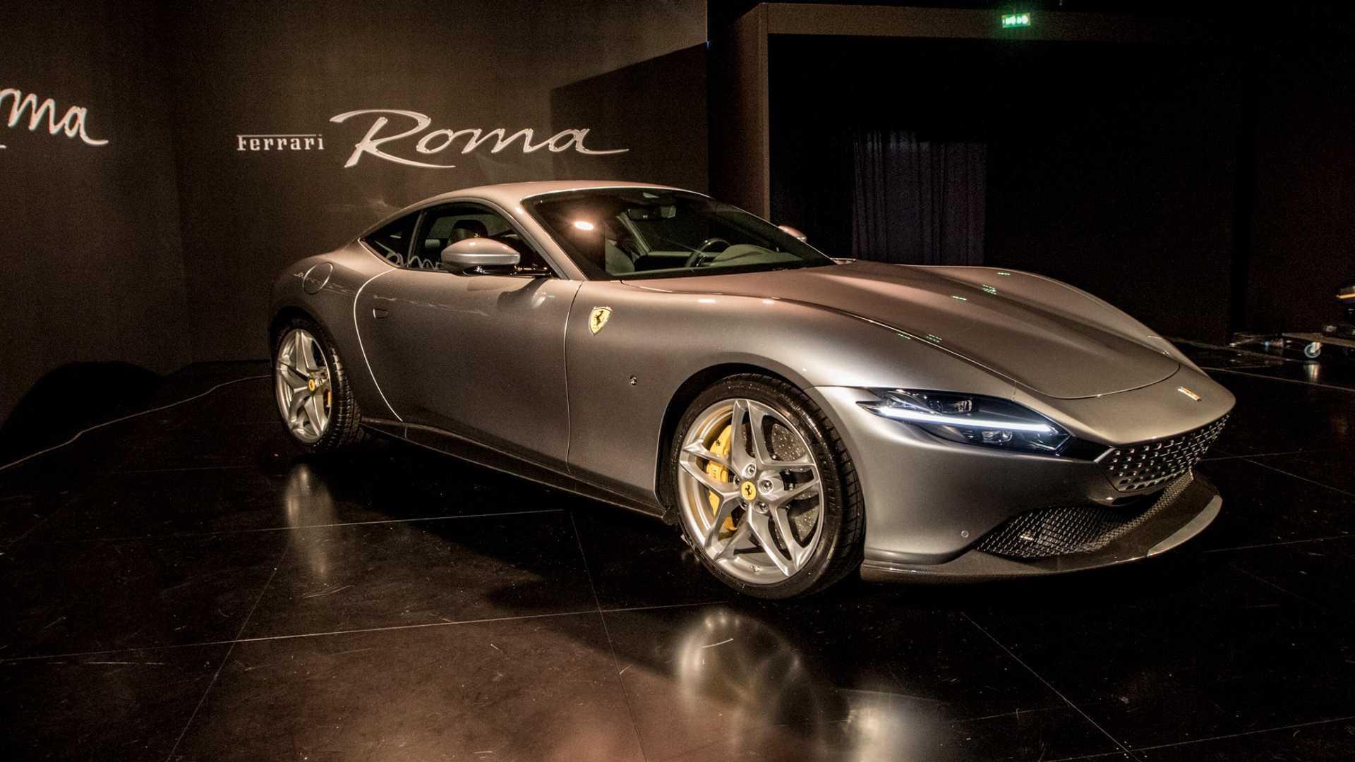 Ferrari Rome, Live photos