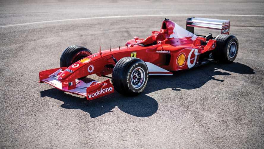 Eladták Michael Schumacher egykor világbajnok Ferrariját