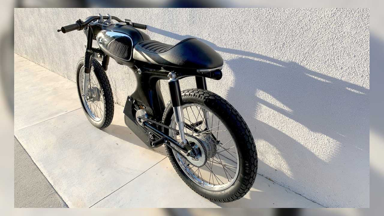 Electric Honda s90 Custom By Aaron Laniosz