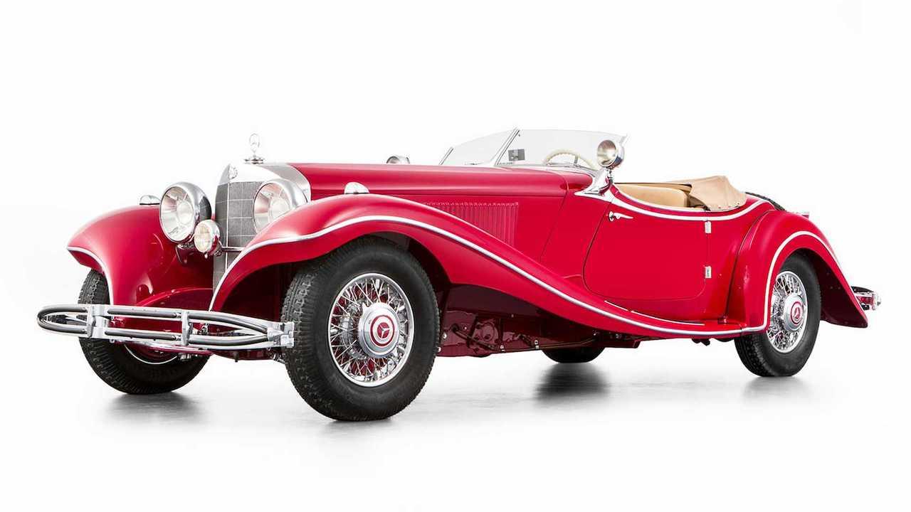 Mercedes 500 K Roadster (1935) - 5,2 Millionen Euro