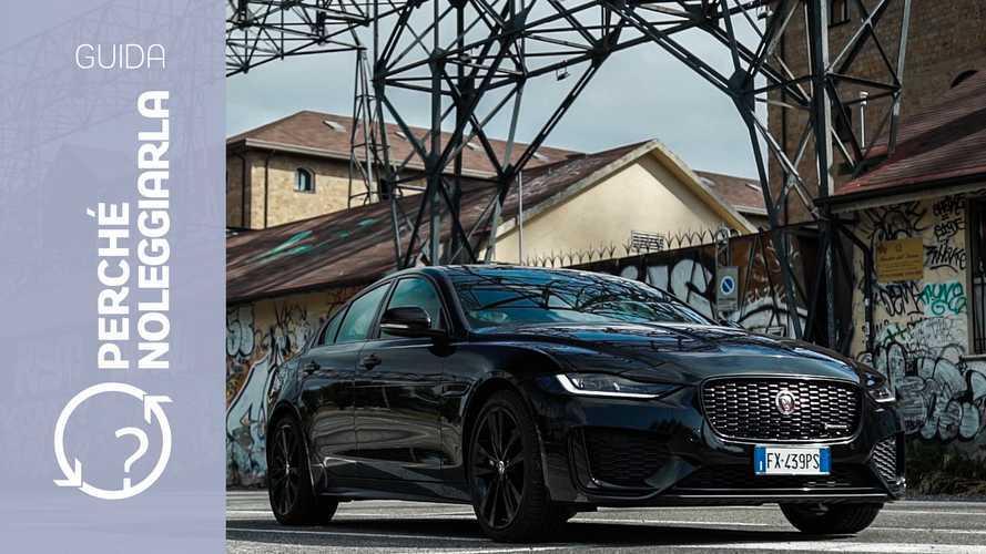 Jaguar XE (2019), perché noleggiarla... invece di comprarla