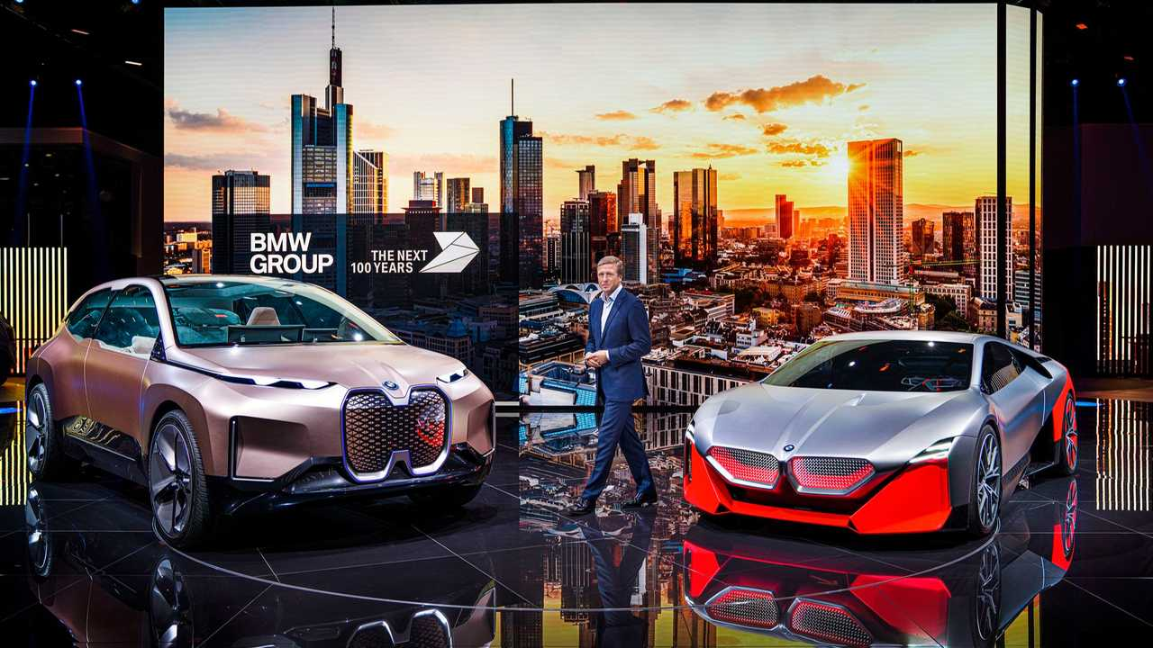 BMW CEO Oliver Zipse at the 2019 Frankfurt Motor Show